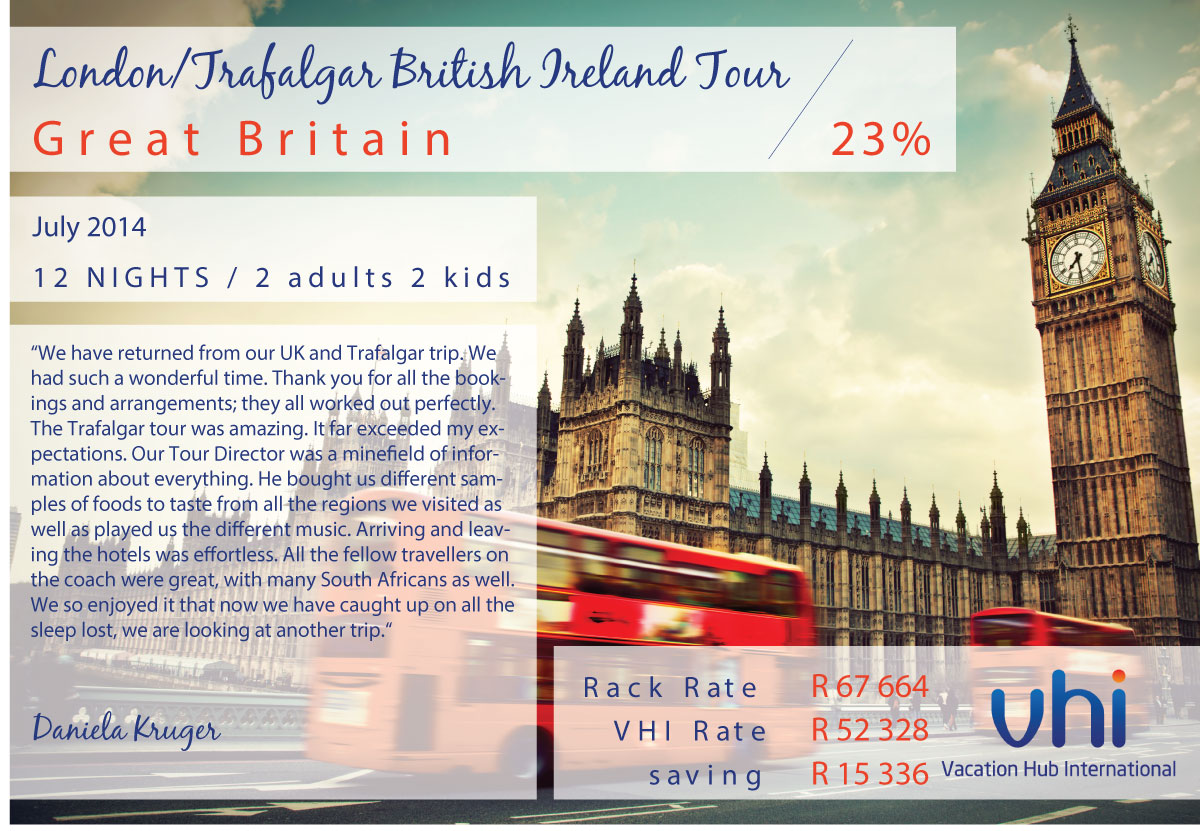 Vacation Hub International - Member Review - London