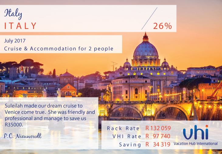 Vacation Hub International - Member Review - Italy Tour