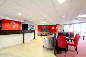 Vacation Hub International | Ramada by Wyndham London Stansted Airport Lobby