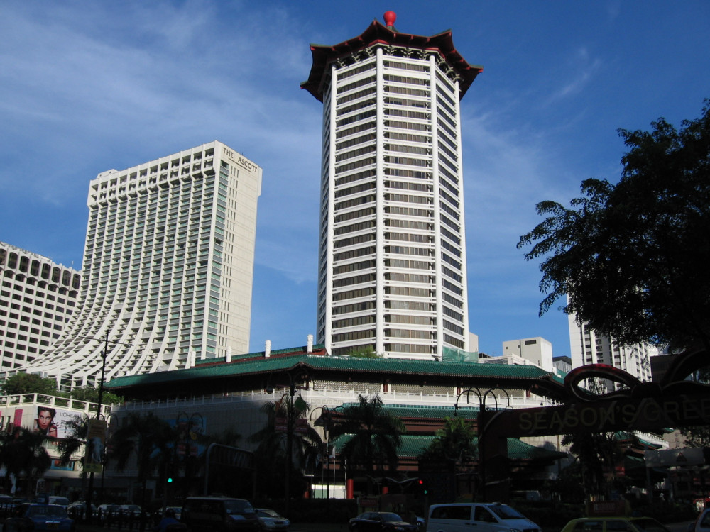 Vacation Hub International - VHI - Travel Club - Singapore Marriott Tang Plaza Hotel
