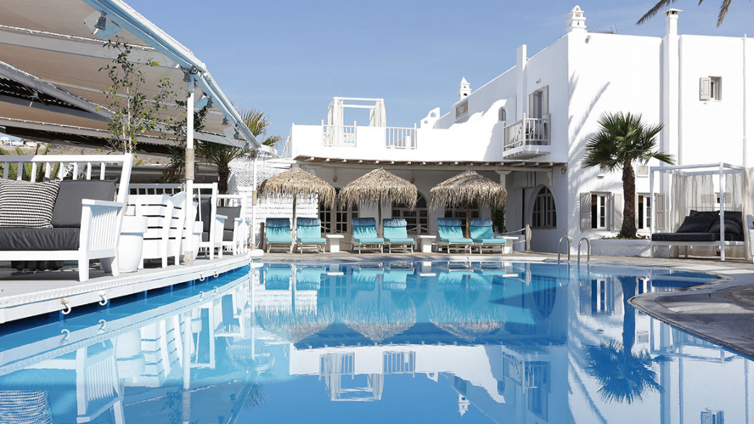 Vacation Hub International - VHI - Travel Club - Mykonos Palace Beach Hotel